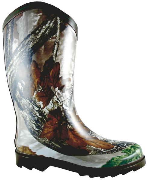 Smoky Mountain Women's Camoflauge Rubber Boot - Wide Calf