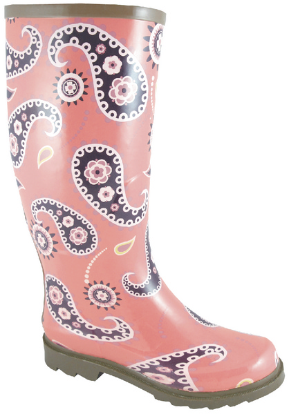 Smoky Mountain Women's Paisley Rubber Boot