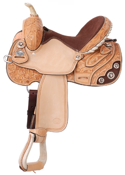 Lamar All Around Barrel Saddle