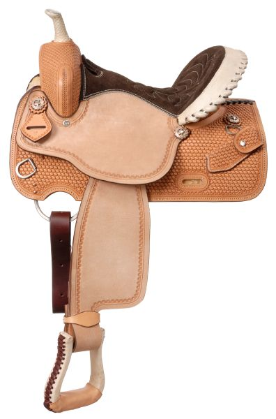 Cimarron Barrel Saddle