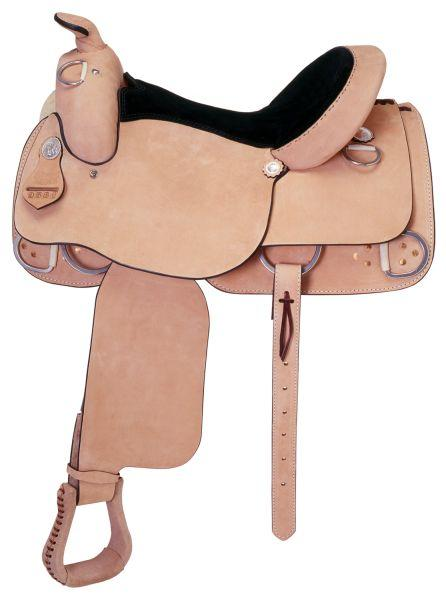 Silver Royal Roughout Training Saddle