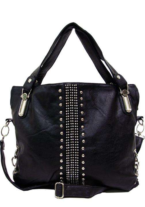 Rhinestones & Studs Handbag