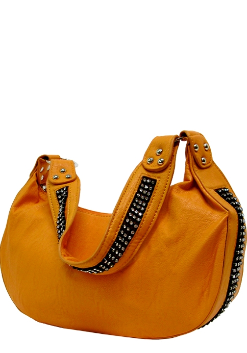 Small Rhinestone Hobo Bag