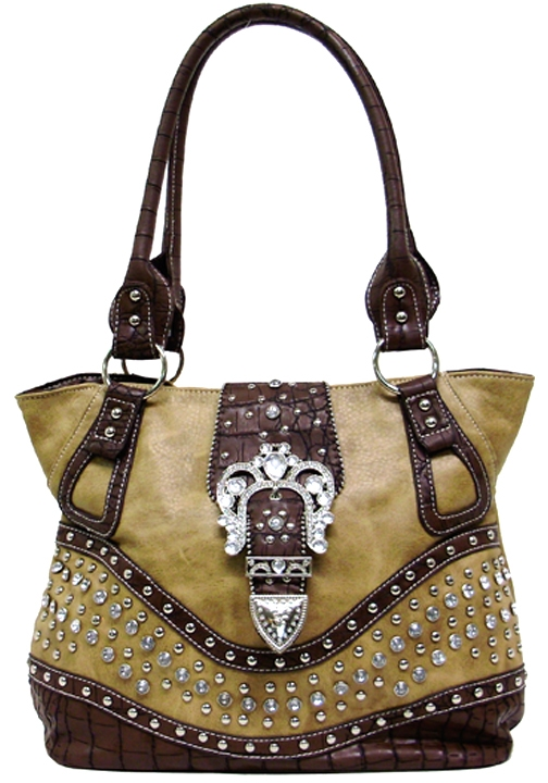 Large Silver Sparkle Handbag