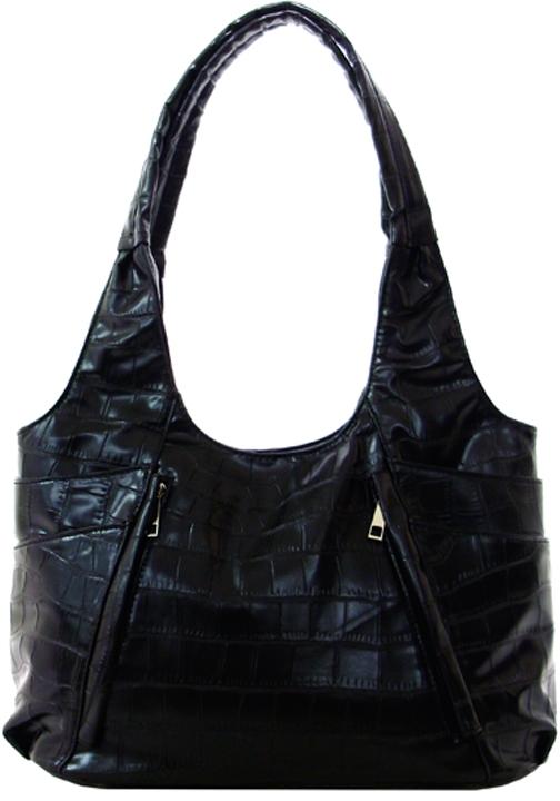 Gator-print Handbag