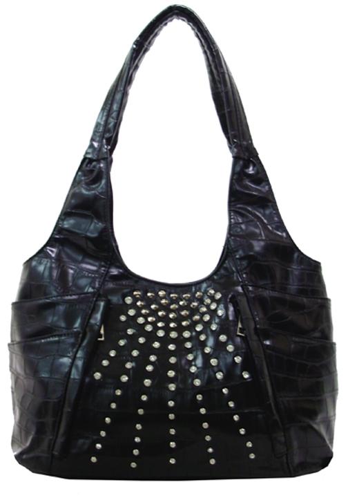 Rhinestone Starburst Handbag