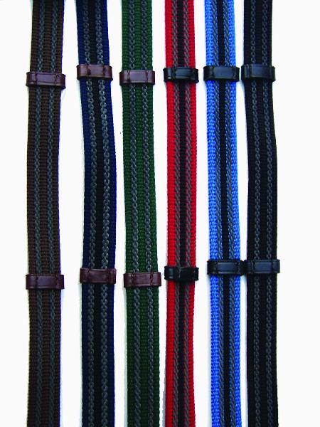Pro-Trainer Double Rubber Web Reins