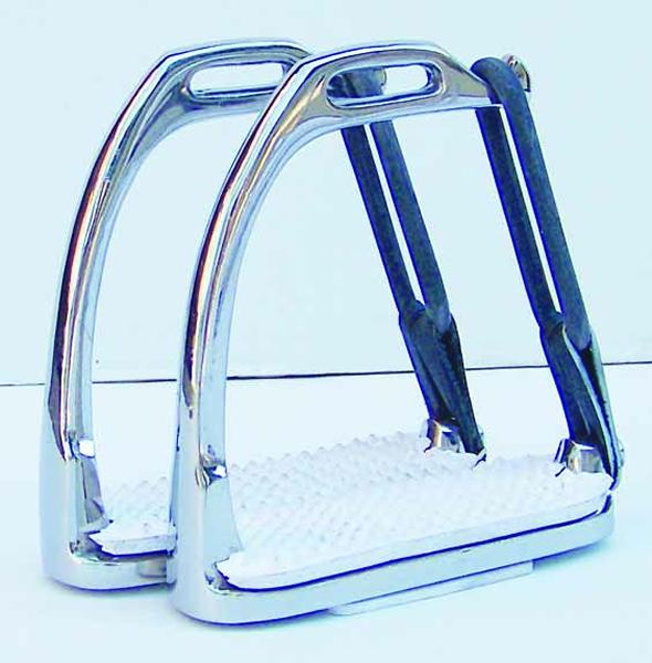 Thornhill Peacock Safety Stirrups with Pads
