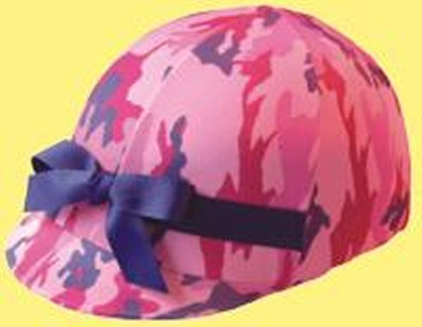 Helmet Helpers Pocket Helmet Cover - Pink Camo Print