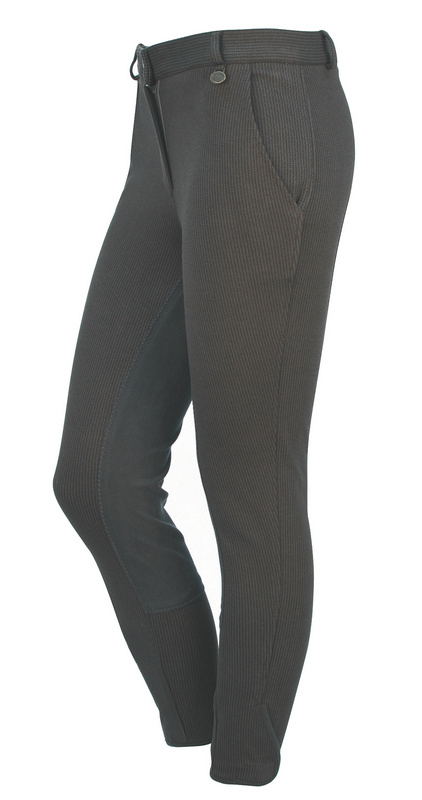 On Course Houndstooth Ladies Full Seat Breeches
