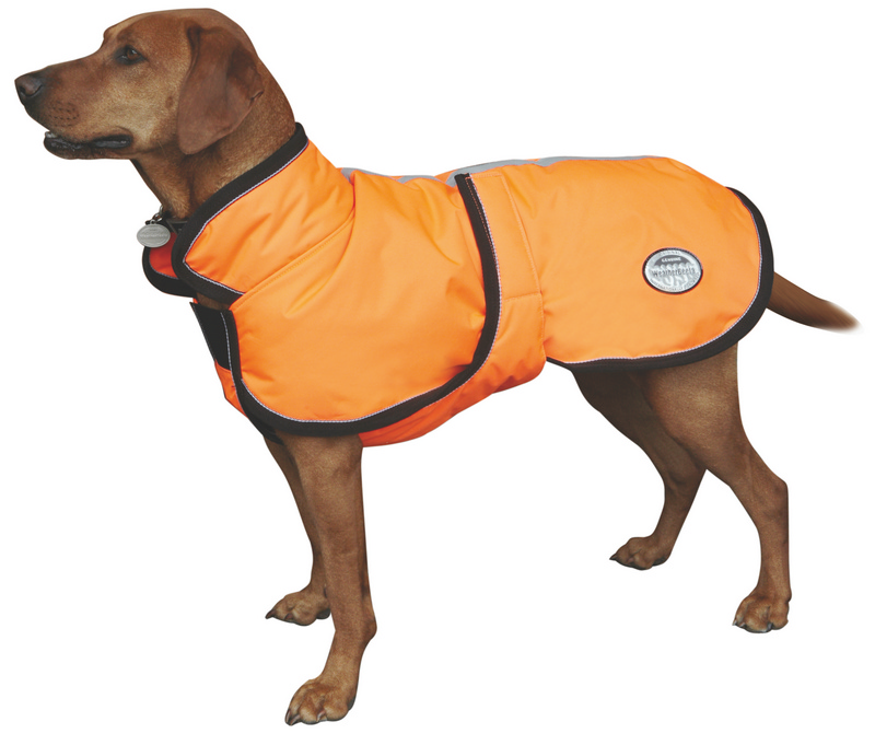 Weatherbeeta Reflective Parka With Belly Wrap 300D Dog Coat