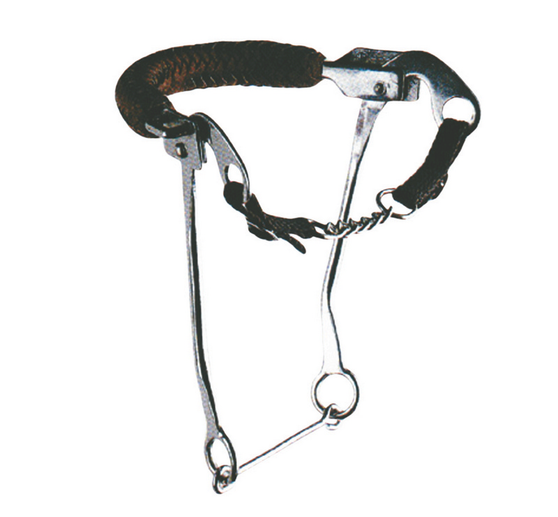 Korsteel Hackamore With Leather Noseband