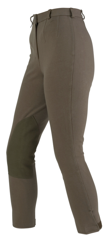 On Course Shapely Knee Patch Breeches