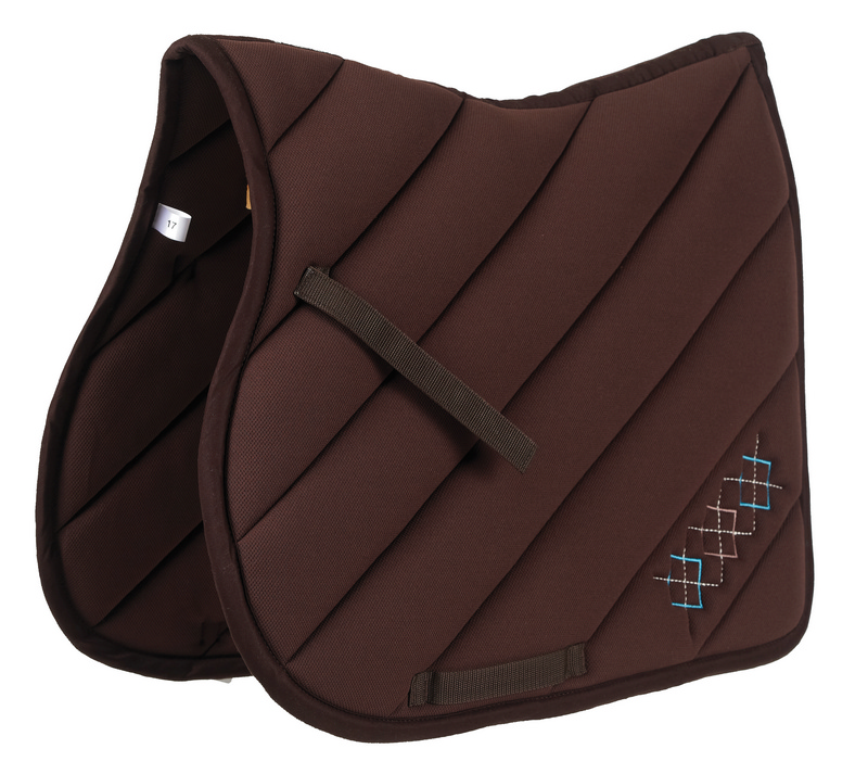 Roma Ecole Argyle All Purpose Saddle Pad