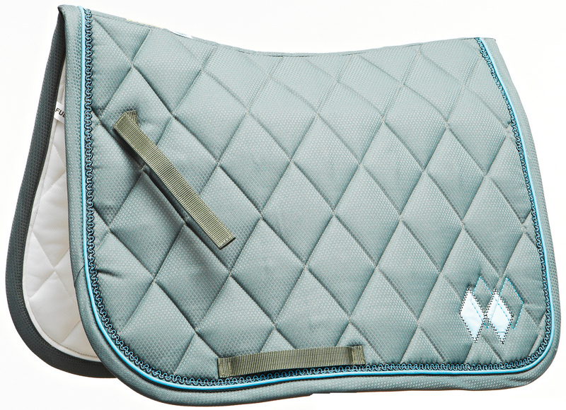 Roma Argyle Dressage Saddle Pad