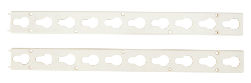 Roma Plastic Keyhole Track