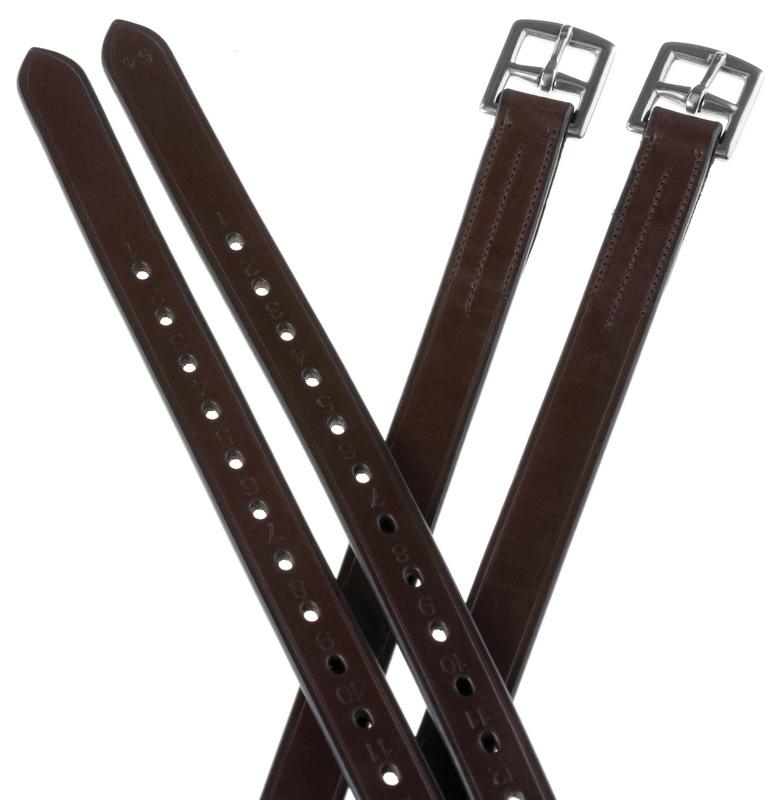 Collegiate 1/2 Hole Stirrup Leathers