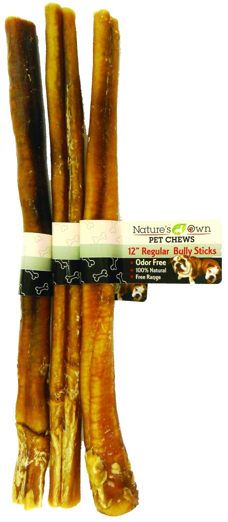 nature 39 s own pet chews regular bully stick odor free. Black Bedroom Furniture Sets. Home Design Ideas