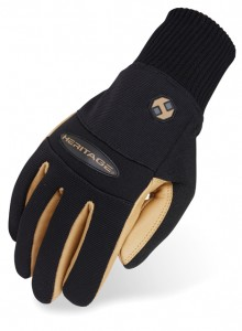 Heritage Gloves Heritage Winter Work Gloves Adult 8 Black/Tan