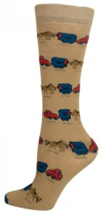 Gatsby Girl Novelty Collection Socks Ladies 9-11 Horse Trailer at Sears.com