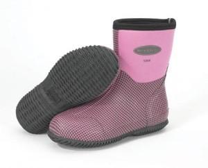 The Original Muck Boot Company MUCK BOOTS Women's Scrub Boot Home & Garden Boot Women's 4 Dust Pink Houndstooth