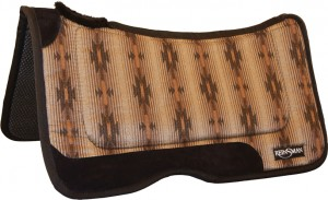 REINSMAN Comfort Flex Herculon Pad - Tacky Too - Laredo Denim Print 32'' X 32'' X 1'' Laredo Denim at Sears.com