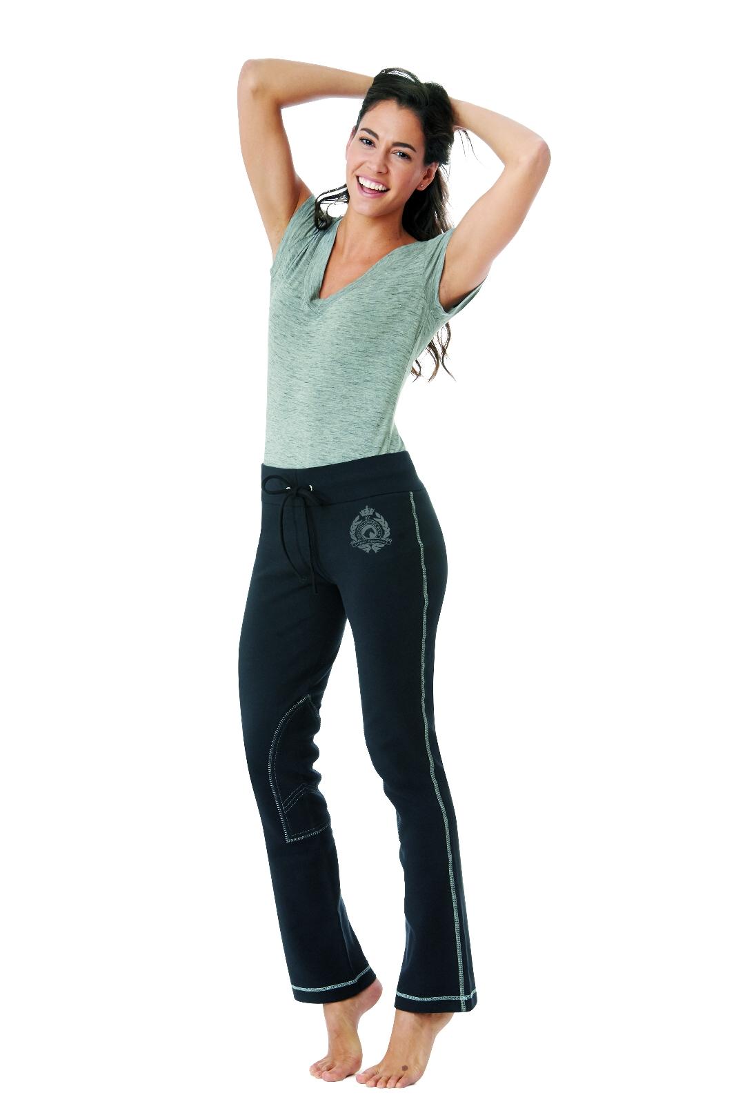 Ovation Ladies Lounge Pant Large Black