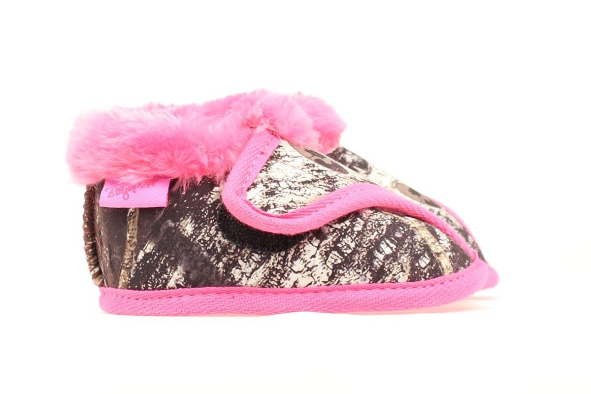 Blazin Roxx Infant Fleece Lined Bootie Medium Hot Pink/Mossy Oak