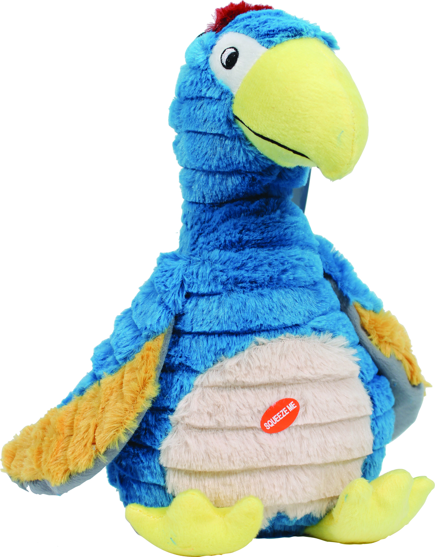 Patchwork Pet Dodo The Bird Plush Toy 15'' Blue