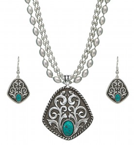 MONTANA-SILVERSMITHS-VINTAGE-TURQUOISE-DROPS-JEWELRY-SET