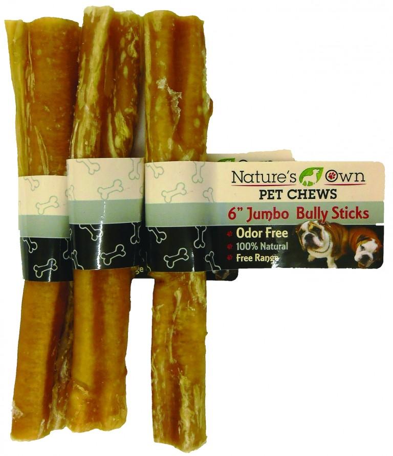 nature 39 s own pet chews odor free bully sticks. Black Bedroom Furniture Sets. Home Design Ideas