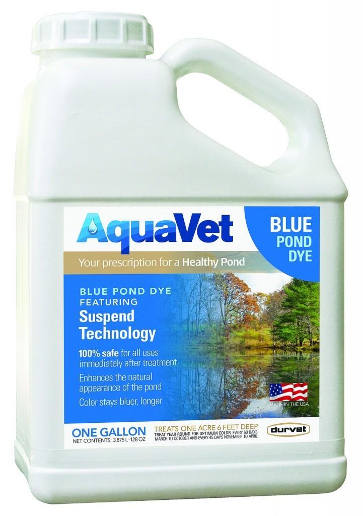 Blue pond dye for Blue pond dye