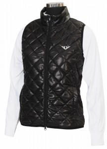 TuffRider Alpine Quilted Vest Ladies 2X Black at Sears.com