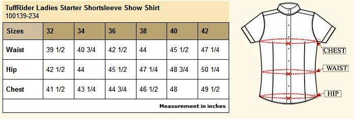 Tuffrider Starter Show Shirt Ladies Equestriancollections